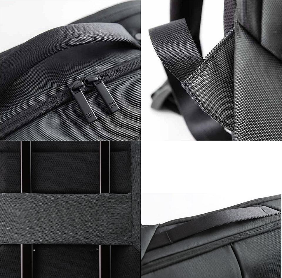 Рюкзак Xiaomi 90Points Multitasker Business Travel  Backpack Black: Фото 8