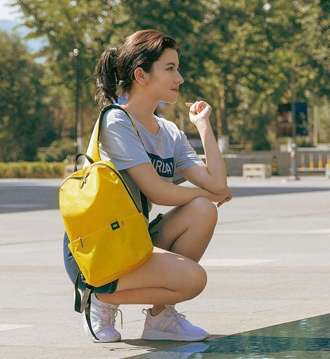 Рюкзак Xiaomi Mi Casual Daypack Yellow: Фото 5