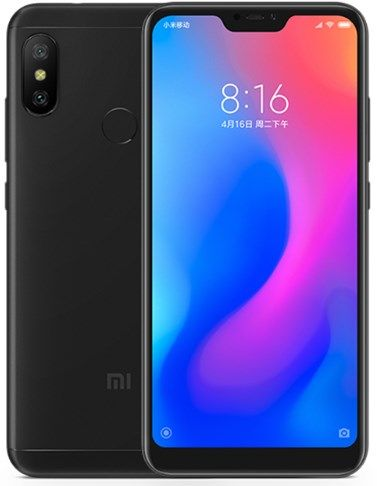 Смартфон Xiaomi Mi A2 Lite 3+32Gb Black: Фото 1