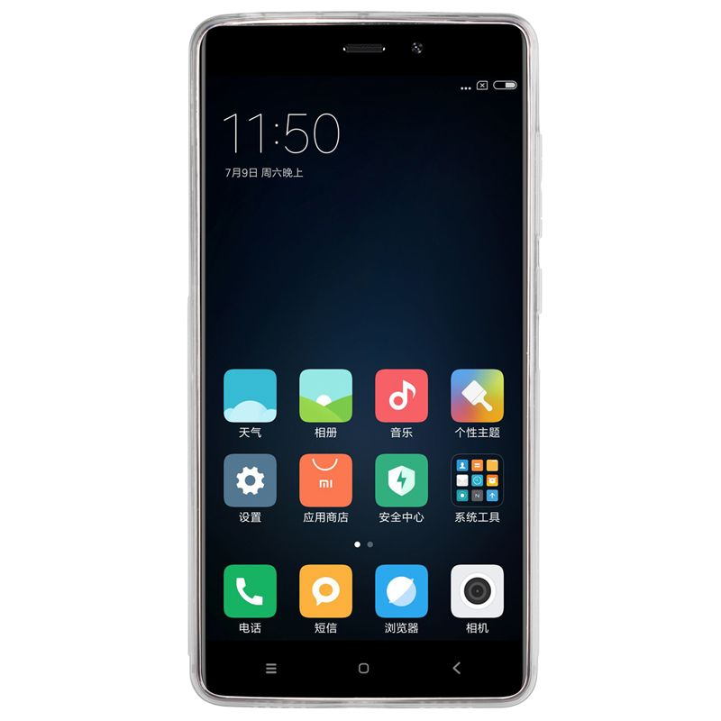 Чехол silicon case Xiaomi Redmi 4: Фото 3