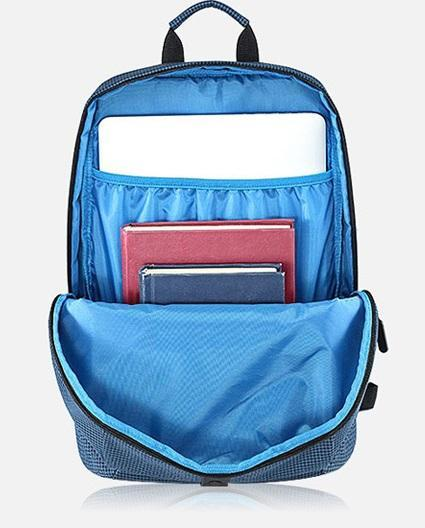 Рюкзак Xiaomi College Leisure Backpack Blue: Фото 6