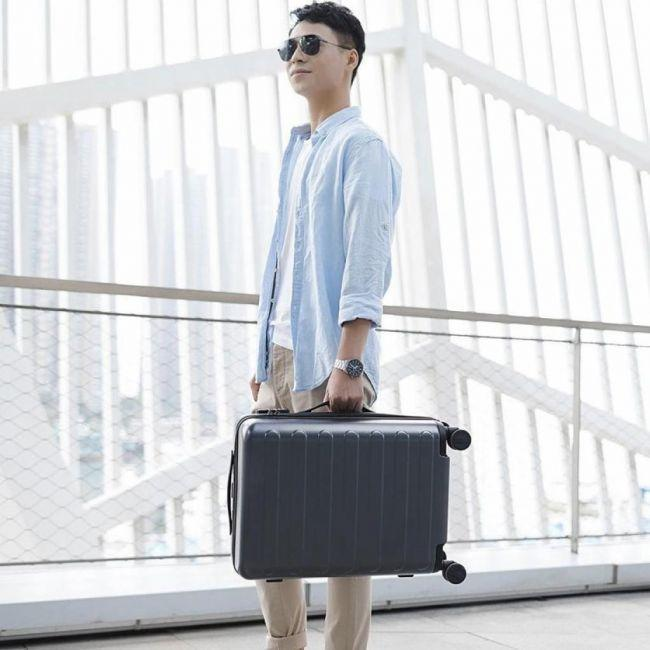 "Чемодан Xiaomi 90FUN Business Travel Luggage 28"" Lake Light Blue: Фото 5"