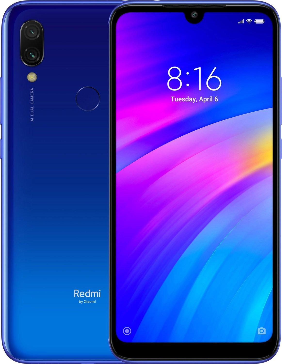 Смартфон Xiaomi Redmi 7 3/32Gb Blue: Фото 1