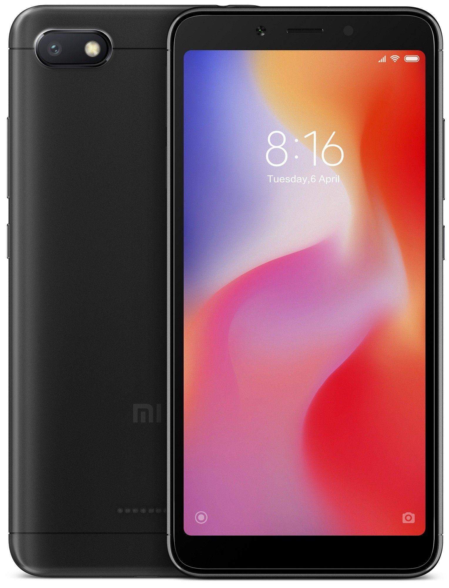 Смартфон Xiaomi Redmi 6A 32Gb Black: Фото 1