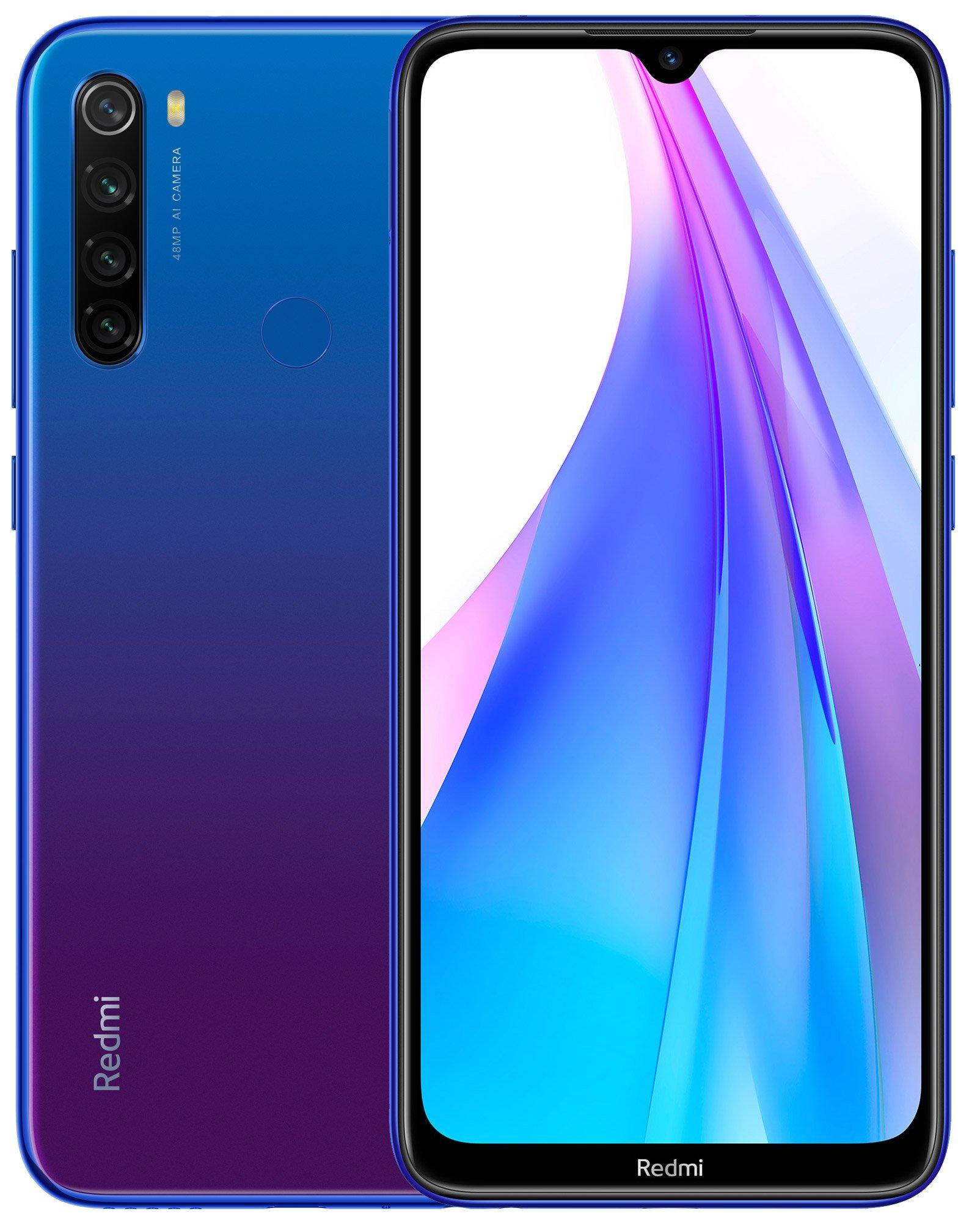 Смартфон Xiaomi Redmi Note 8T 4/128Gb Blue: Фото 1