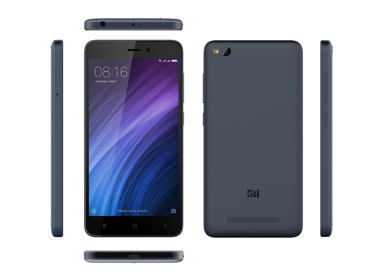 Смартфон Xiaomi Redmi 4A 16Gb Grey: Фото 6