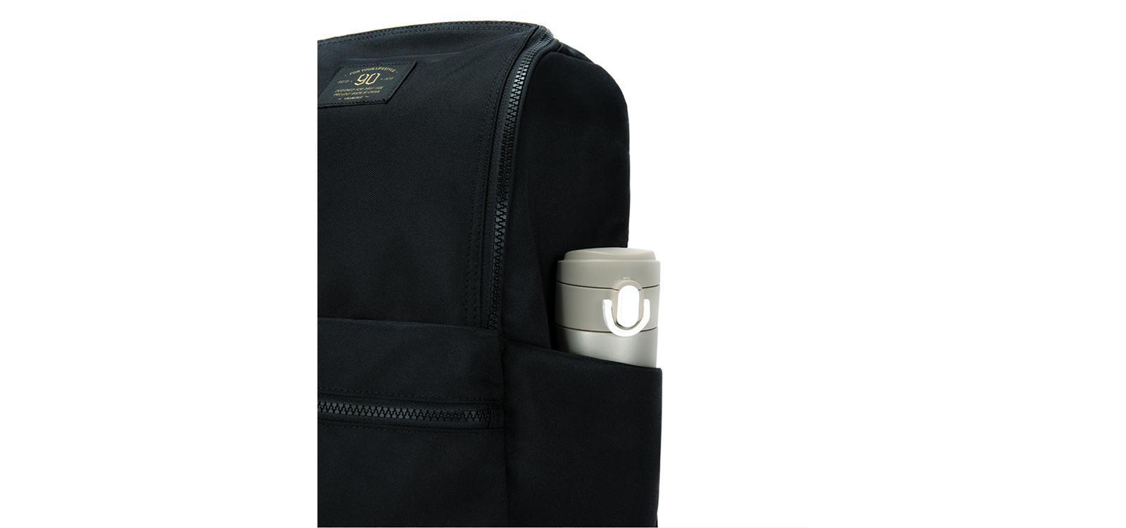 Рюкзак Xiaomi NINETYGO Light Travel Backpack Black (size L): Фото 5