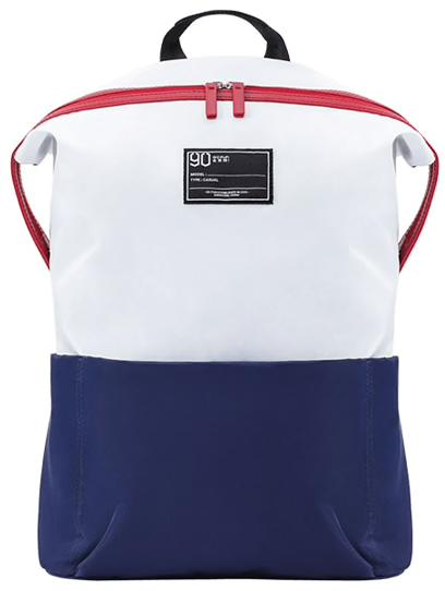 Рюкзак Xiaomi Lecturer Leisure Backpack White-Blue: Фото 1