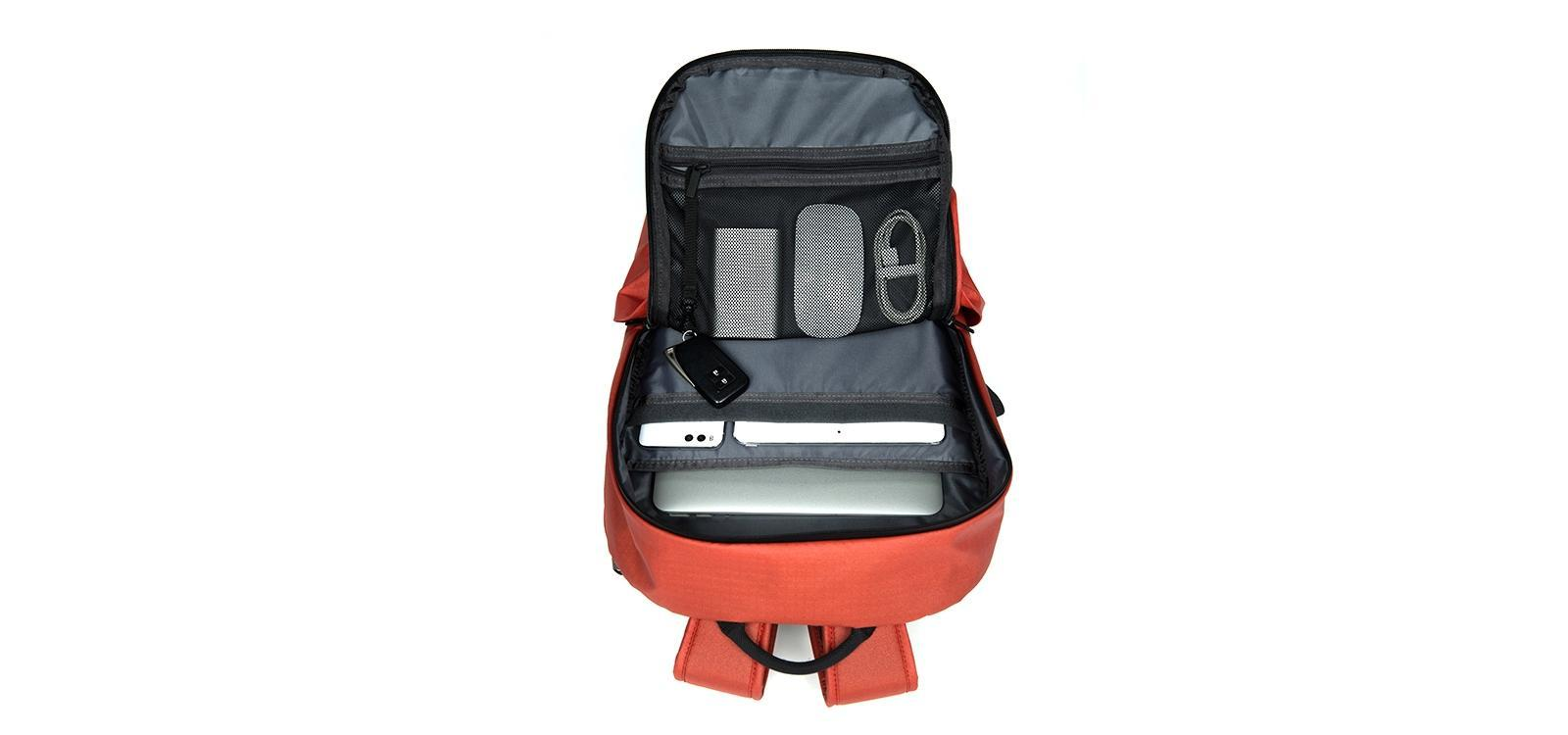 Рюкзак Xiaomi All Weather Functional Backpack Dark Orange: Фото 4