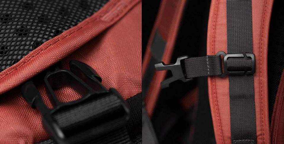 Рюкзак Xiaomi All Weather Functional Backpack Dark Orange: Фото 6