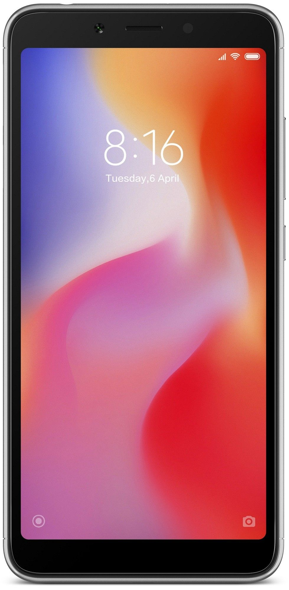 Смартфон Xiaomi Redmi 6A 32Gb Black: Фото 2
