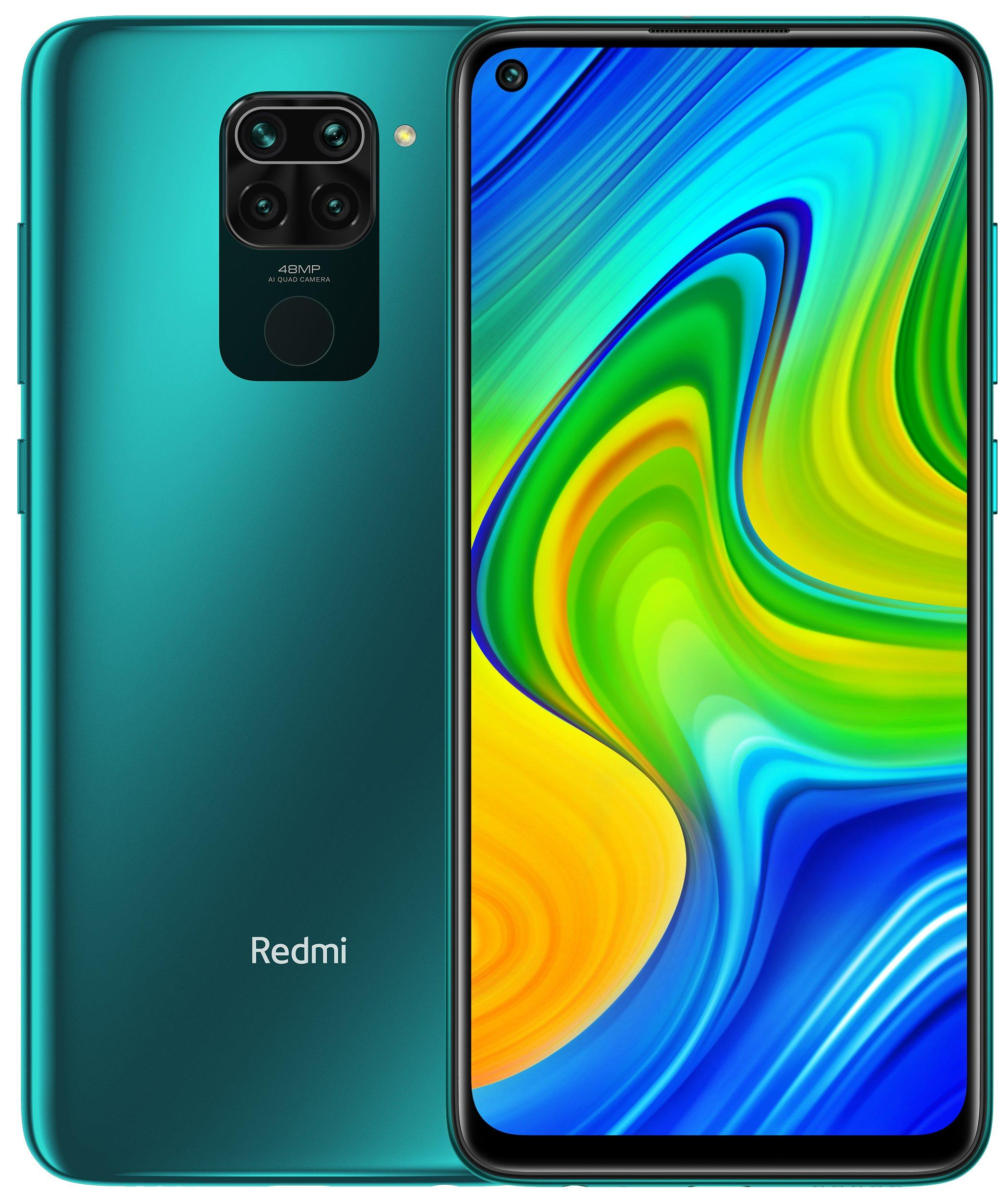 Смартфон Xiaomi Redmi Note 9 3/64Gb Green: Фото 1