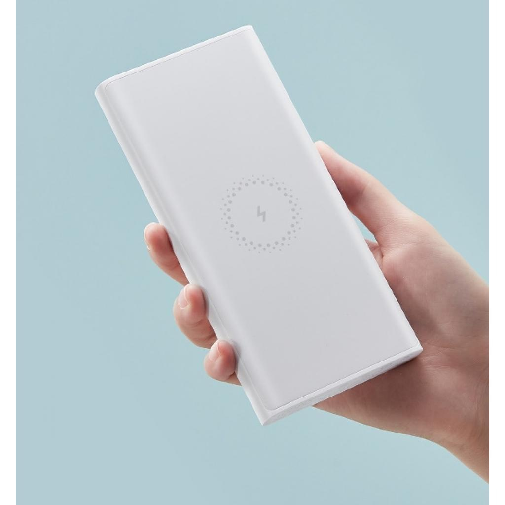 Power Bank Xiaomi 10000 mAh Wireless White: Фото 4