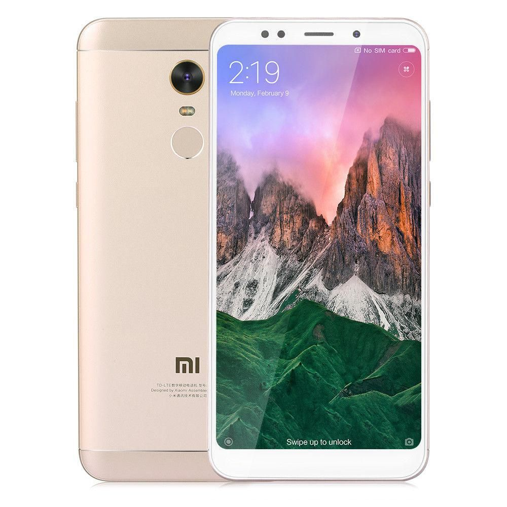 Смартфон Xiaomi Redmi 5 Plus 64Gb Gold: Фото 2