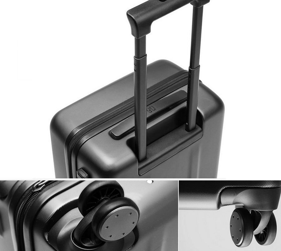Чемодан Xiaomi 90FUN PC Luggage 20'' Magic Night Black: Фото 5