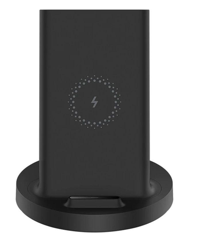 Беспроводное ЗУ Xiaomi Mi 20W Wireless Charging Stand Black (GDS4145GL): Фото 5