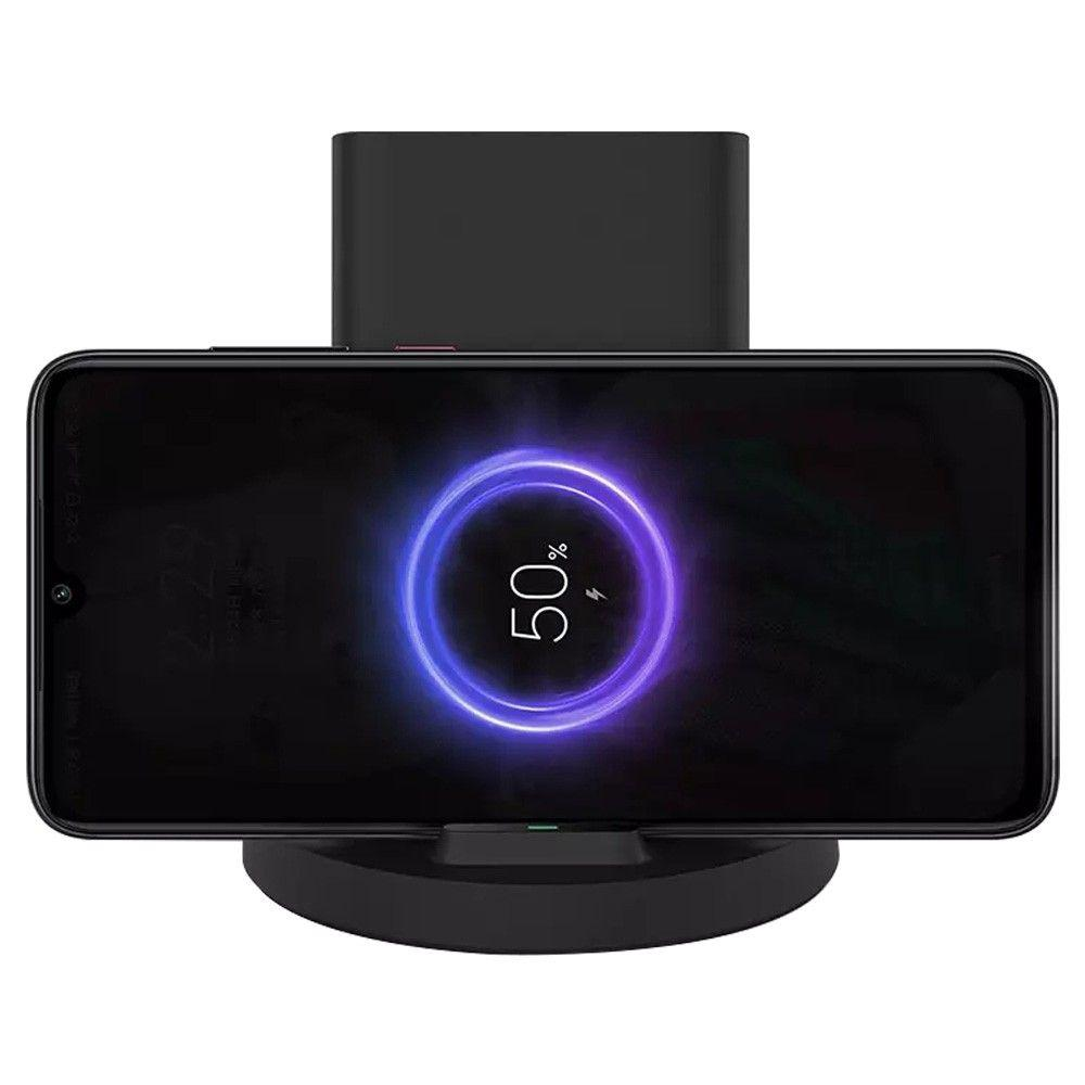 Беспроводное ЗУ Xiaomi Mi 20W Wireless Charging Stand Black (GDS4145GL): Фото 3