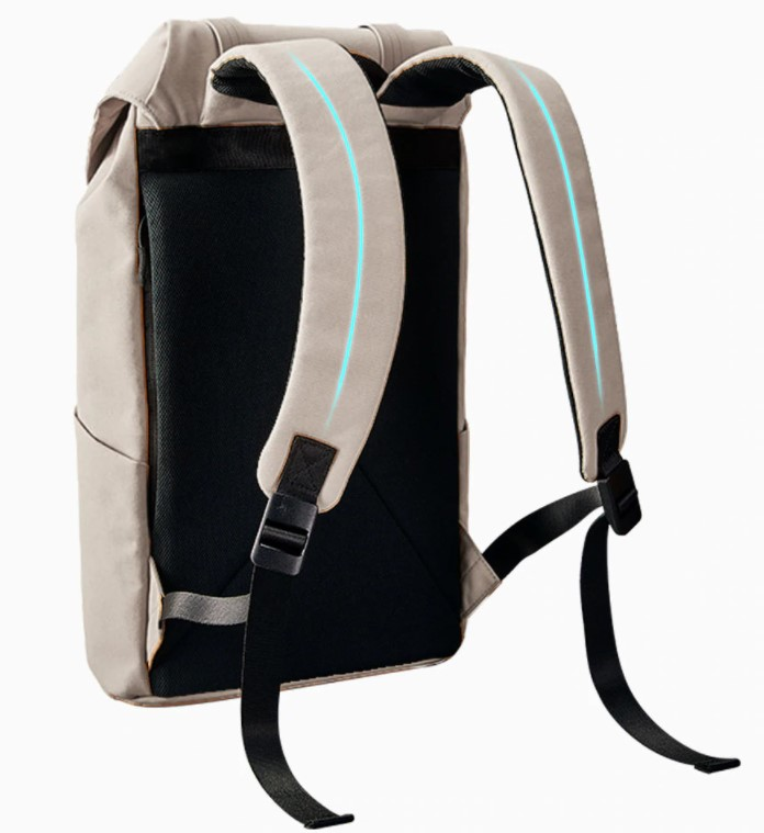 Рюкзак Xiaomi 90Go Colorful Fashion Casual Backpack Grey: Фото 4