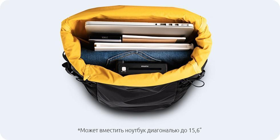 Рюкзак Xiaomi 90 Points Hike Basic Outdoor Backpack Green: Фото 8