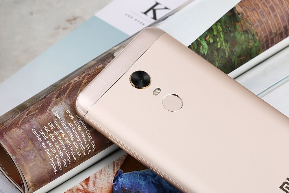 Смартфон Xiaomi Redmi 5 Plus 64Gb Gold: Фото 4