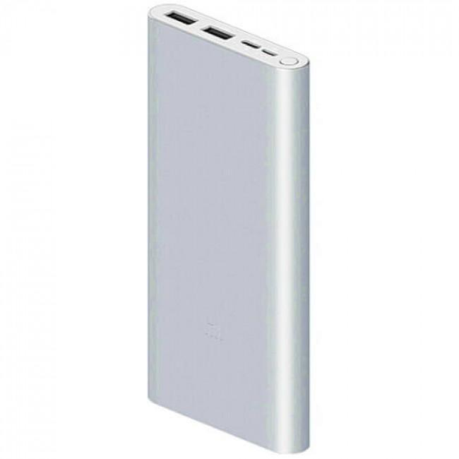 Power Bank Xiaomi 3 10000 mAh Silver (PLM13ZM): Фото 2