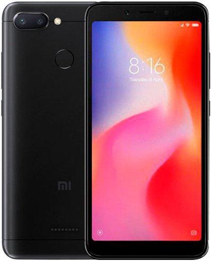 Смартфон Xiaomi Redmi 6 4+64Gb Black: Фото 1