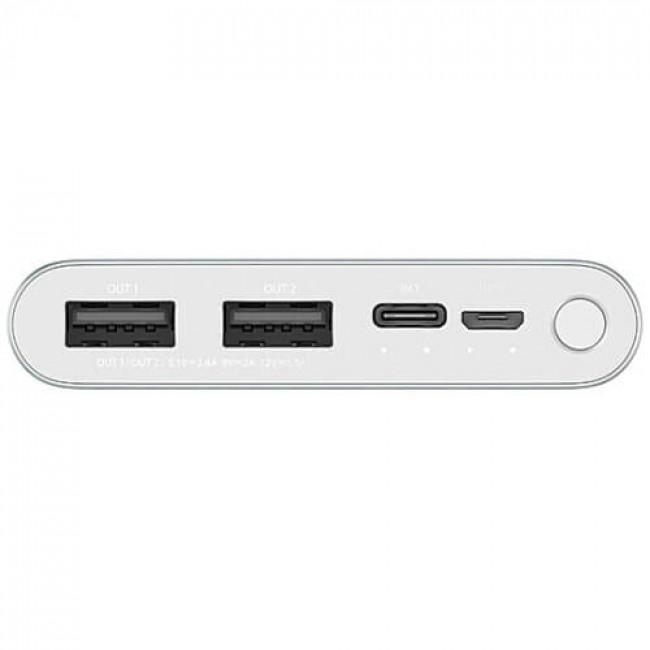 Power Bank Xiaomi 3 10000 mAh Silver (PLM13ZM): Фото 4