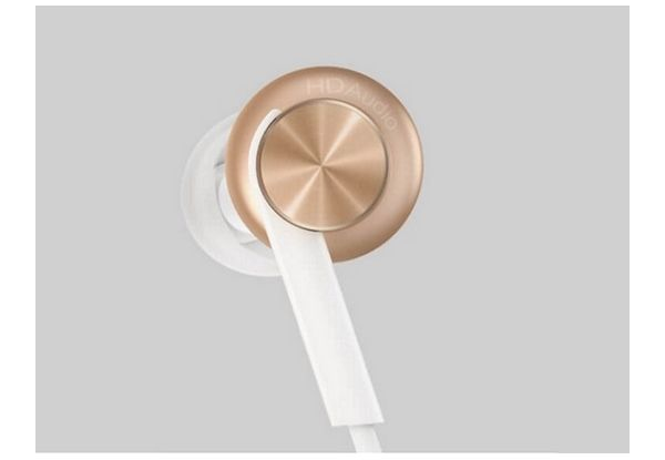 Наушники Xiaomi Mi In-Ear Headphones Pro Gold: Фото 2