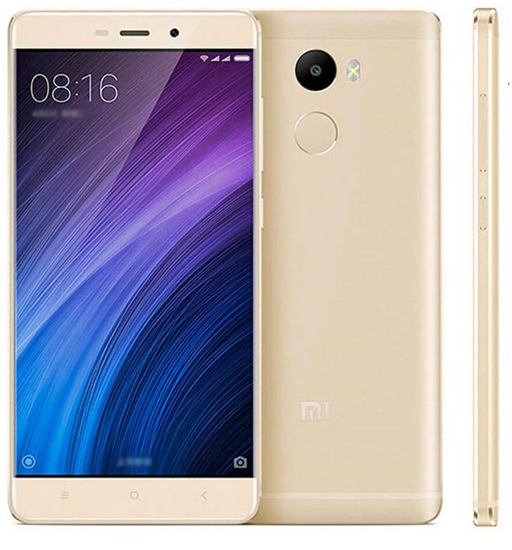 Смартфон Xiaomi Redmi 4 16Gb Gold: Фото 2