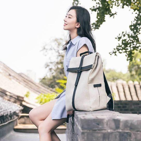 Рюкзак Xiaomi Grinder Oxford Leisure Backpack White: Фото 7