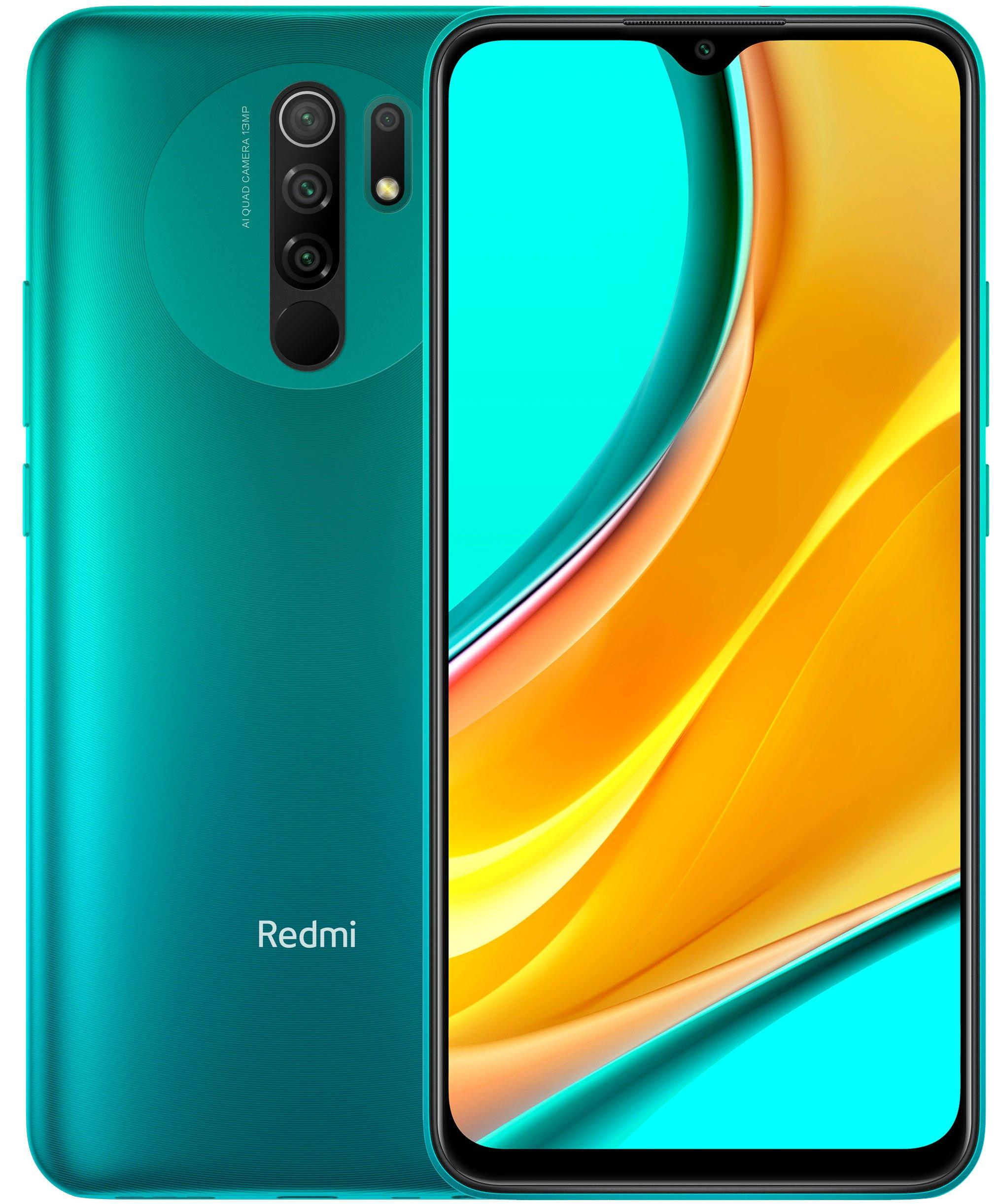 Смартфон Xiaomi Redmi 9 4/64Gb Green: Фото 1