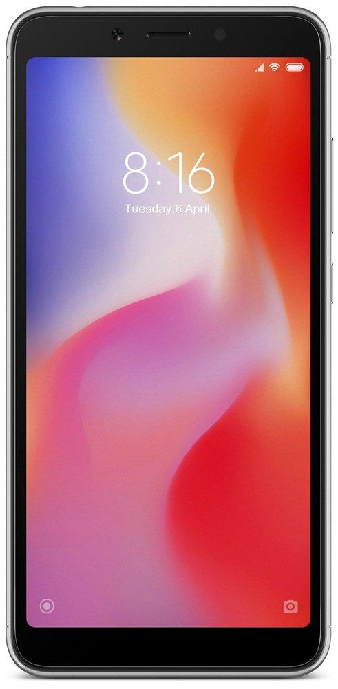 Смартфон Xiaomi Redmi 6 4+64Gb Black: Фото 2