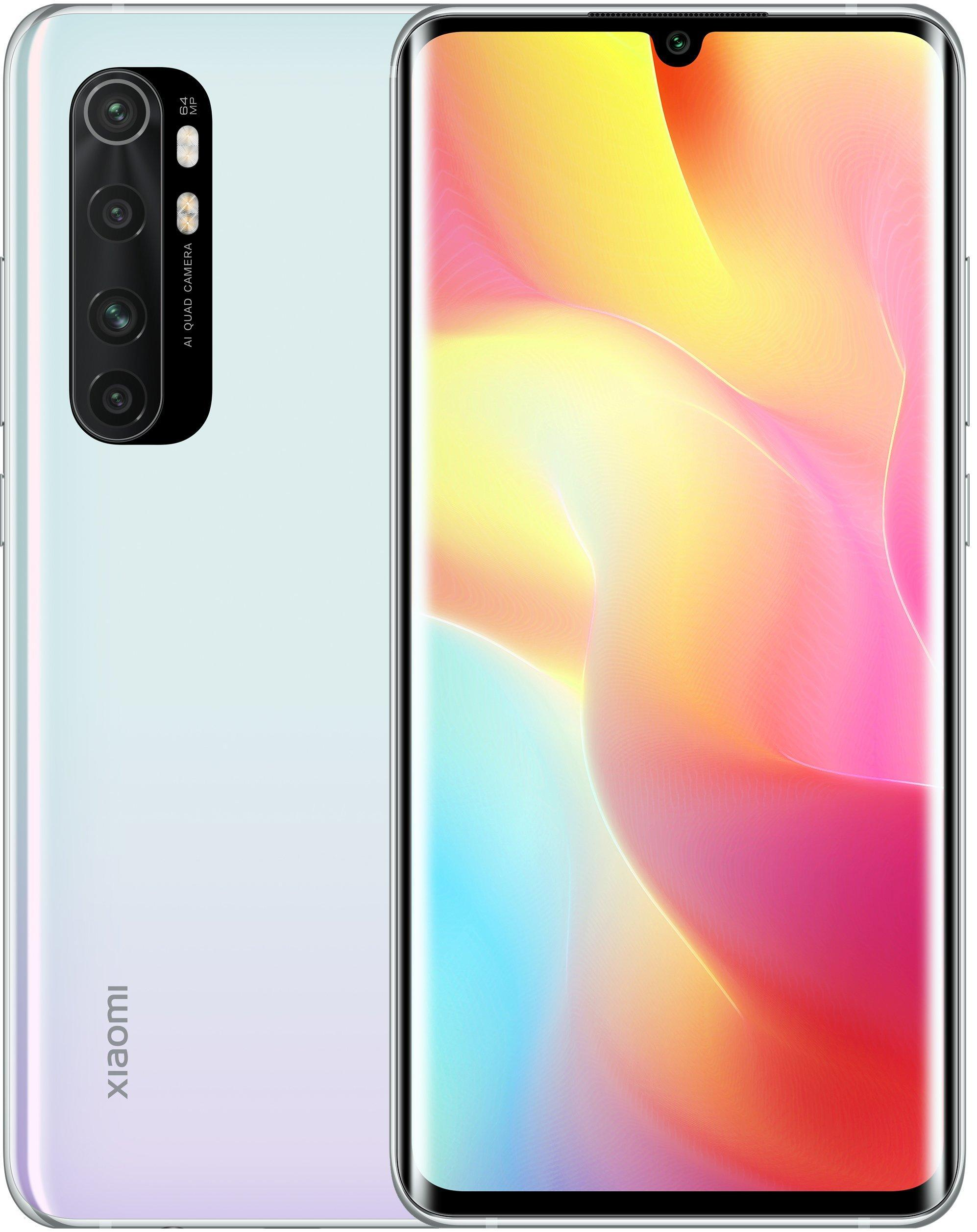 Смартфон Xiaomi Mi Note 10 Lite 6/64Gb White: Фото 1