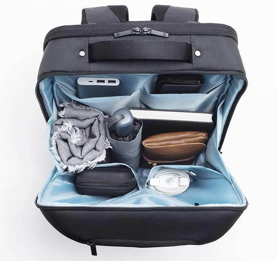 Рюкзак Xiaomi 90Points Multitasker Business Travel  Backpack Black: Фото 5