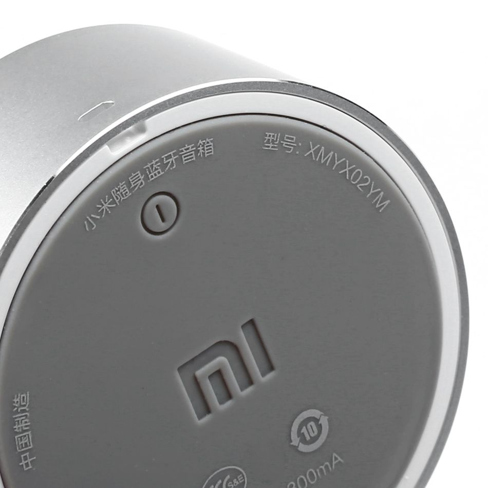 Колонка Xiaomi Little Audio Silver: Фото 2