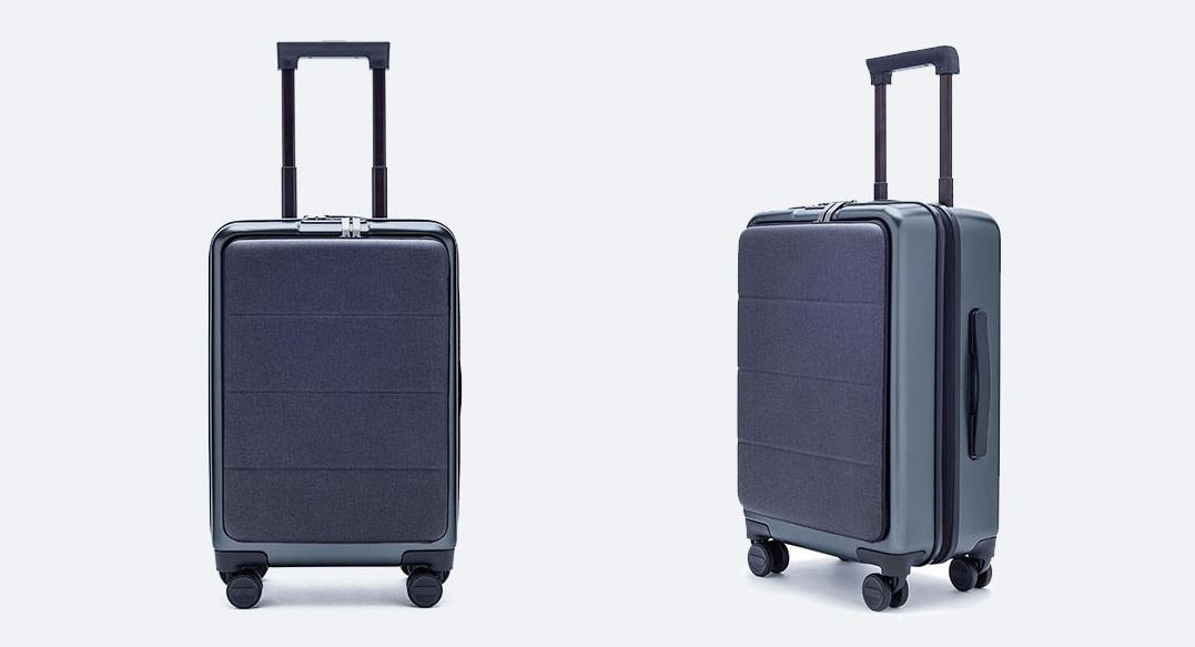 Чемодан Xiaomi 90FUN Carry On Travel Boarding Suitcase 20'' Titanium Grey: Фото 9