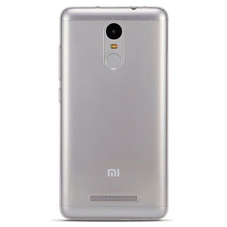 Чехол-бампер transparent silicon для Redmi Note 3 (White)