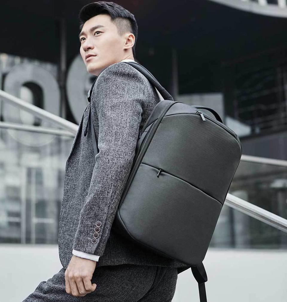 Рюкзак Xiaomi 90Points Multitasker Business Travel  Backpack Black: Фото 9