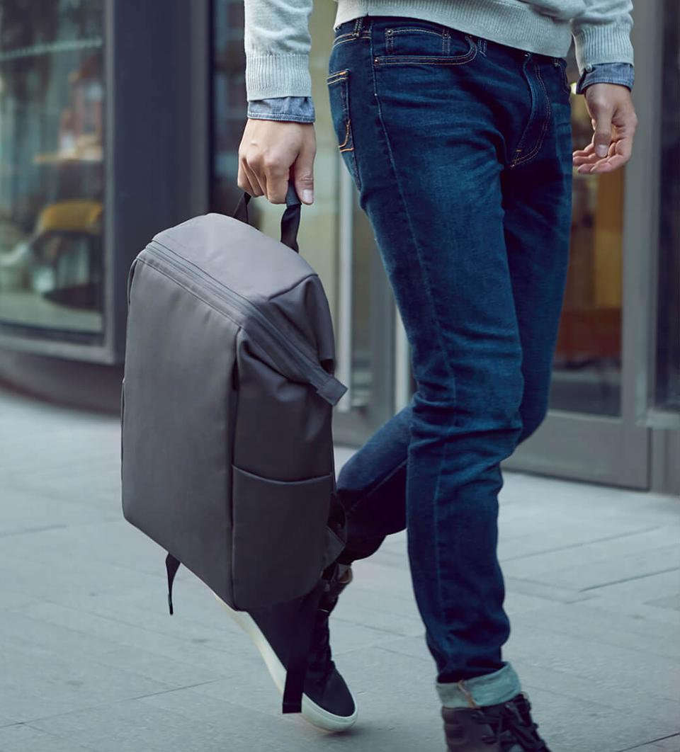 Рюкзак Xiaomi 90 NinetyGo Multitasker Commuting Backpack Grey: Фото 4