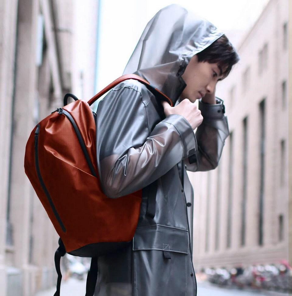 Рюкзак Xiaomi All Weather Functional Backpack Dark Orange: Фото 9