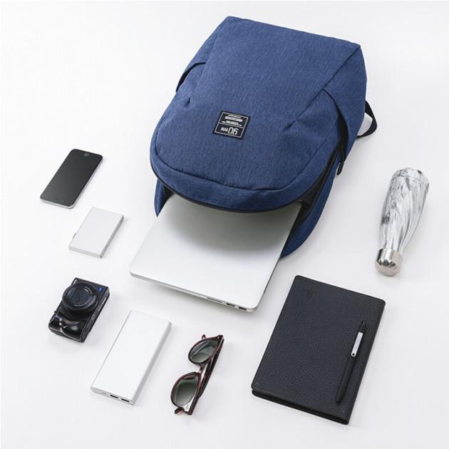 Рюкзак Xiaomi Campus Fashion Casual Backpack Blue: Фото 3