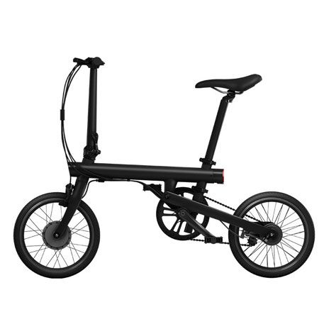 Электрический велосипед Xiaomi Mi QiCYCLE Folding Electric Bicycle Black: Фото 1