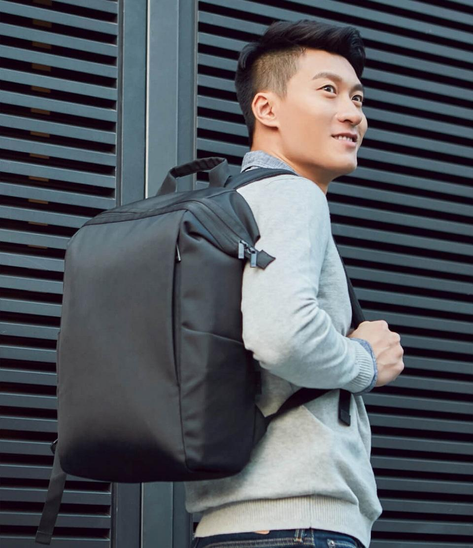 Рюкзак Xiaomi 90 NinetyGo Multitasker Commuting Backpack Black: Фото 7