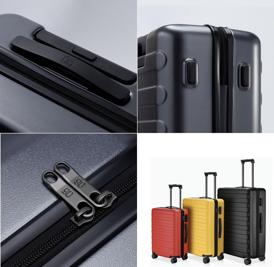 "Чемодан Xiaomi 90FUN Business Travel Luggage 20"" Night Black: Фото 2"