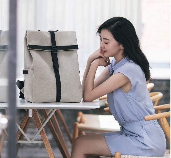 Рюкзак Xiaomi Grinder Oxford Leisure Backpack White: Фото 6