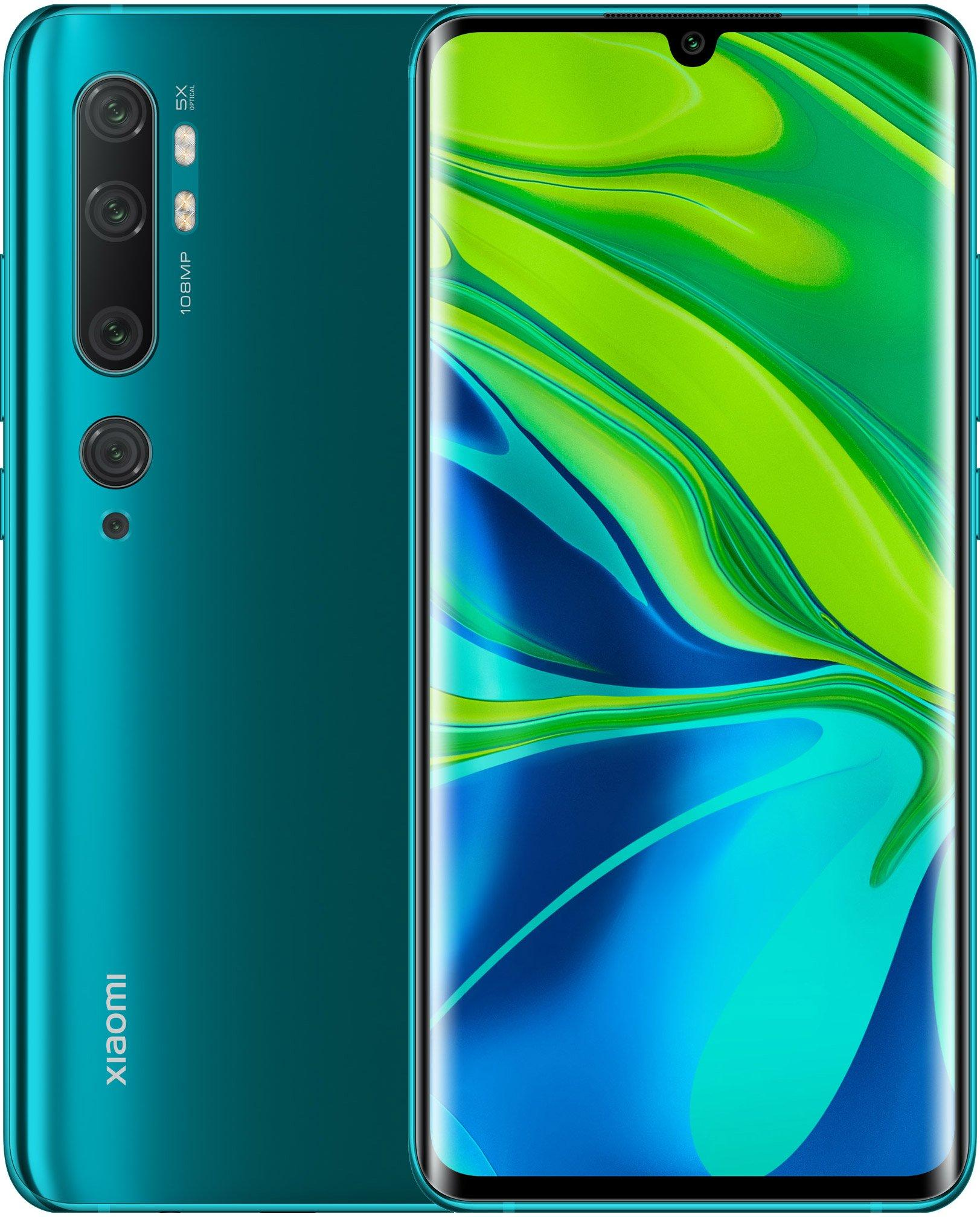 Смартфон Xiaomi Mi Note 10 6/128Gb Green: Фото 1