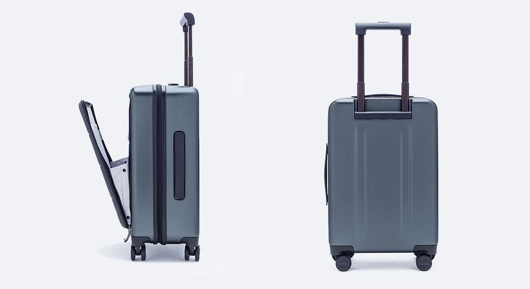 Чемодан Xiaomi 90FUN Carry On Travel Boarding Suitcase 20'' Titanium Grey: Фото 10