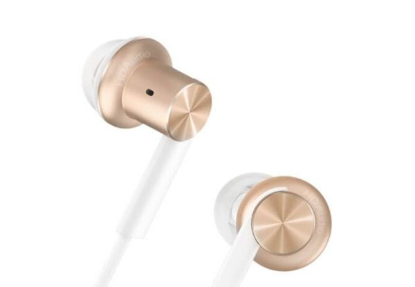 Наушники Xiaomi Mi In-Ear Headphones Pro Gold: Фото 3