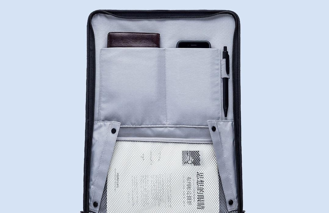 Чемодан Xiaomi 90FUN Carry On Travel Boarding Suitcase 20'' Titanium Grey: Фото 11