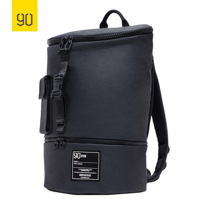 Рюкзак Xiaomi 90FUN Chic Casual Backpack Small Black: Фото 2